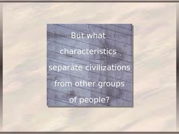 Characteristics of Civilization PowerPoint