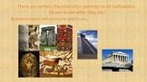 Characteristics of Civilizations