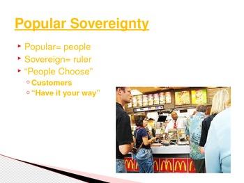 Characteristics of Democracy McDonald's PowerPoint