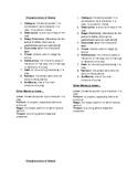 Characteristics of Drama paper