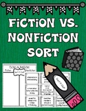 Characteristics of Fiction and Nonfiction Sorting Activity