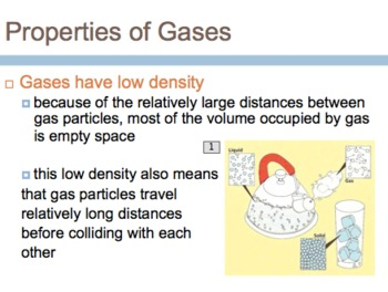 Characteristics of Gases Powerpoint w/Review Questions