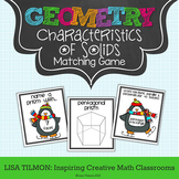 Geometric Solids: Characteristics Matching Game