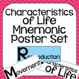 Characteristics of Life Classroom Science Poster