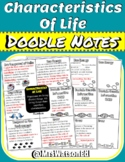 """Characteristics of Life """"Doodle"""" Style Notes"""
