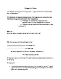Characteristics of Life Guided Notes for PPT