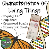 Characteristics of Life: Inquiry Lab, Flip book, and More!