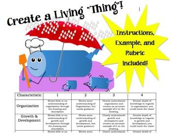 Characteristics of Life - Project