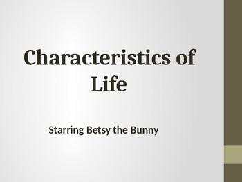 Characteristics of Life Slideshow Presentation