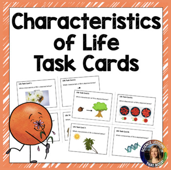 Characteristics of Life Task Cards