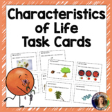 Characteristics of Life Task Cards- Distance Learning