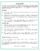 Characteristics of Life Identification & Categorization Worksheet