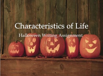 Characteristics of Life Writing Assignment