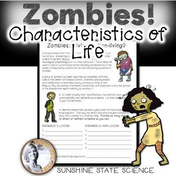 Characteristics of Life ZOMBIES