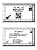Characteristics of Life and Cells Digital Breakout