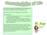 Characteristics of Life for Interactive Notebooks