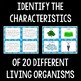 Characteristics of Living Organisms Card Sort