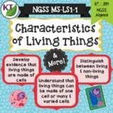 Characteristics of Living Things - Cells