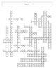 Characteristics of Living Things Crossword puzzle with key