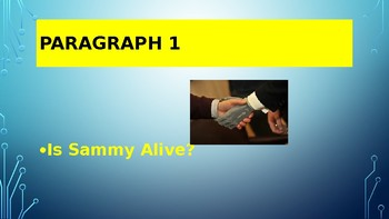 Characteristics of Living Things: Is Sammy Alive?