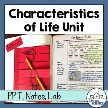 Characteristics of Living Things Lesson Bundle - Characteristics of Life