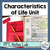 Characteristics of Living Things Lesson Bundle - Character