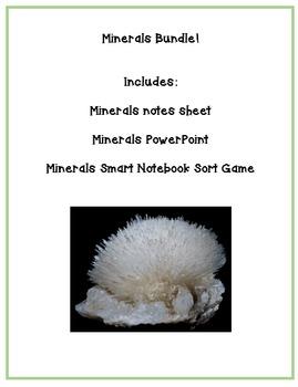 Characteristics of Minerals Notes