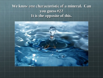 Characteristics of Minerals Power Point