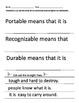 Characteristics of Money Printables