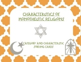 Comparing Monotheistic Religions: Islam, Christianity, Judaism