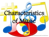 Characteristics of Music, Printable Posters