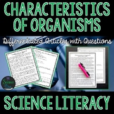 Characteristics of Organisms - Science Literacy Article