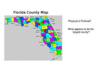 Characteristics of Physical and Political Maps by Cheryl Smith ... on
