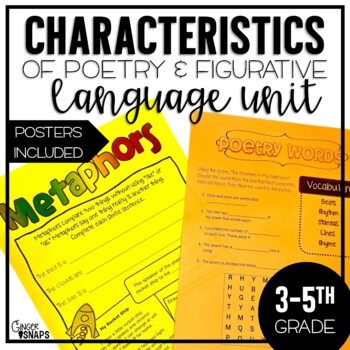 Characteristics of Poetry and Figurative Language