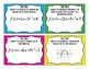 Characteristics of Quadratics Task Cards