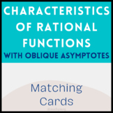 Characteristics of Rational Functions Matching Cards (With