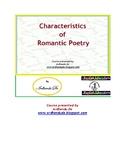Characteristics of Romantic Poetry