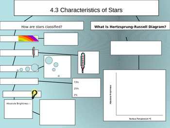 Characteristics of Stars Notes Power Point