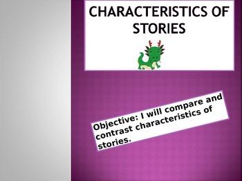 Characteristics of Stories
