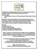 Characteristics of Tall Tales Lesson