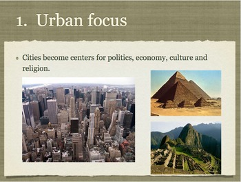 Characteristics of a Civilization Game + Project (rubric inc.) + PPT & worksheet
