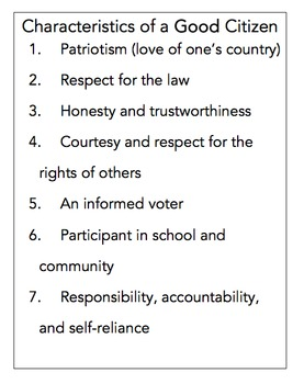 qualities of a good social studies teacher In this individual rights social studies lesson, students generate opinions about the qualities of a good teacher student ideas are recorded on c hart paper and .
