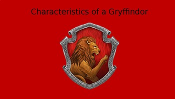 Characteristics of a Gryffindor