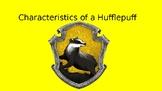 Characteristics of a Hufflepuff