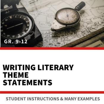 Characteristics of a Theme Statement - Handout