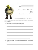 Characteristics of a narrative: Shrek