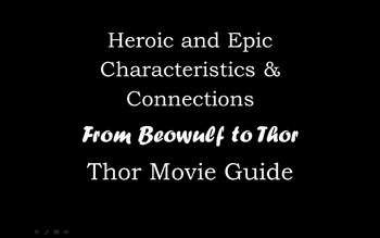 Characteristics of an Epic: Movie Guide for Thor