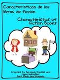 Characteristics of fiction books/Características de los li