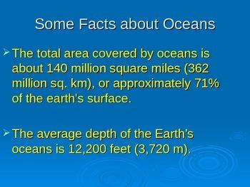 Characteristics of the Ocean