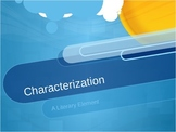 Characterization:  A Literary Element